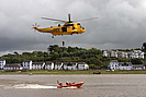 RNLI Lifeboat and Helicopter display photo copyright Pat Adams