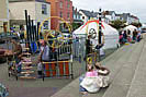 Bustling Appledore Quay - The Yurts added to the festival scene