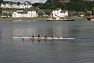 Fours Rowing Practice - Torridge River