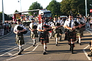 Pipes and Drums Bideford Carnival