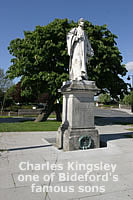 Charles Kingsley - one of Bideford's famous sons - The Wonky Conker!