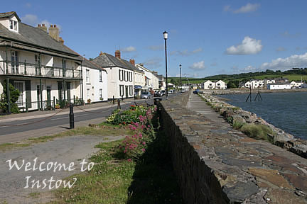 The Quay at  Instow - enhanced as part of the Instow Flood Defence Scheme in 1992