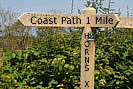 To Peppercombe Valley - Coast Path 1 Mile