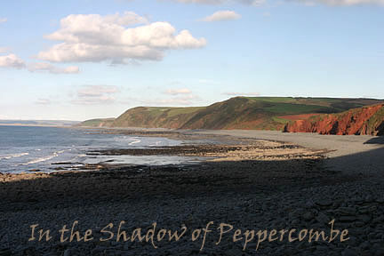 In the Shadow of Peppercombe - October 2004