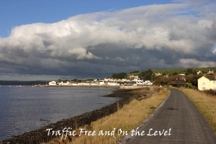Traffic Free and On the Level Tarka Trail Bideford to Instow photo copyright Pat Adams